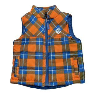 Rocawear Classic Puffer Vest Size 6/9 Months Blue